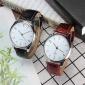 新款时尚男士商务手表 皮带男款经典简约手表 男士简约腕表